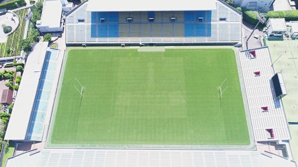 国立霞ヶ丘競技場ラグビー場 ラグビーゴール設置事業