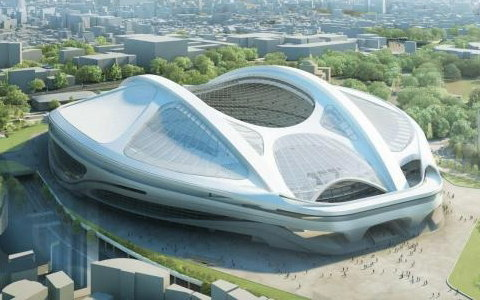 新国立競技場(採用案)