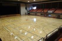 体育館の床全面リフレッシュ工事のご提案