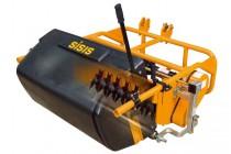 トラクター搭載式バーチカルモア「Rotorake TM1000」の紹介