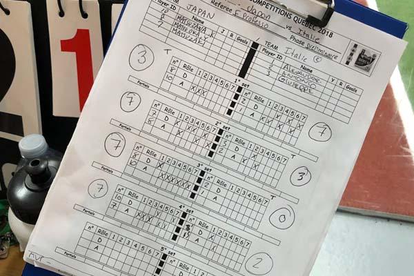 ■WEB 記録 日本代表 vs イタリア 計算表