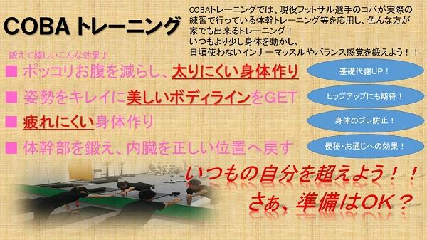 ■COBAトレーニング