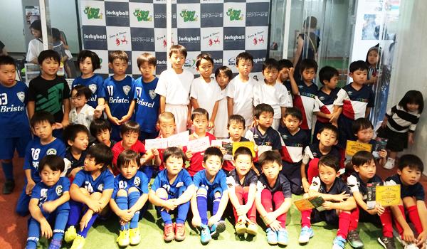 ジョーキーボール「第3回・KOFU-Jr.CUP U-8」公式記録の発表!