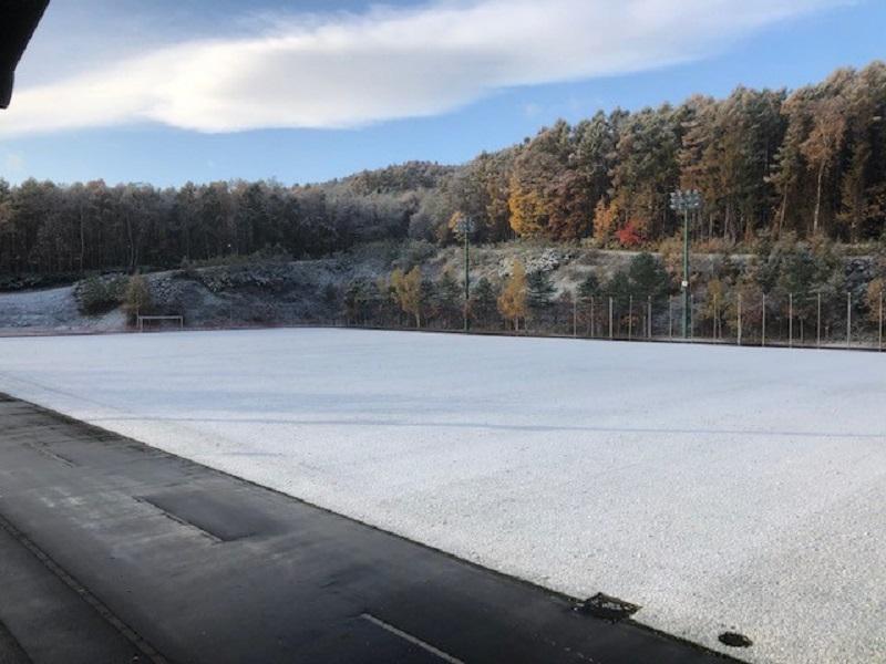 北の大地・北海道でのコウフ・フィールド流芝生管理「第3弾」をお届けします!今年最後の更新です!
